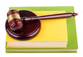 Wooden gavel on books - PhotoDune Item for Sale
