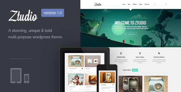 Ztudio | MultiPurpose WordPress Theme