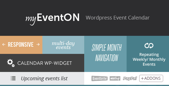 EventOn - Responsive WordPress Event Calendar Plugin