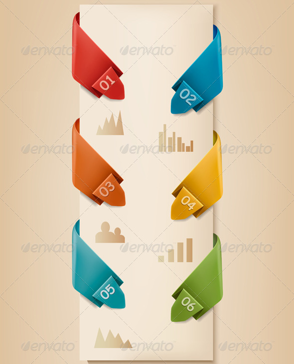 GraphicRiver Infographics Banner with Numbers 5490537