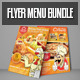 Flyer Menu Bundle - GraphicRiver Item for Sale