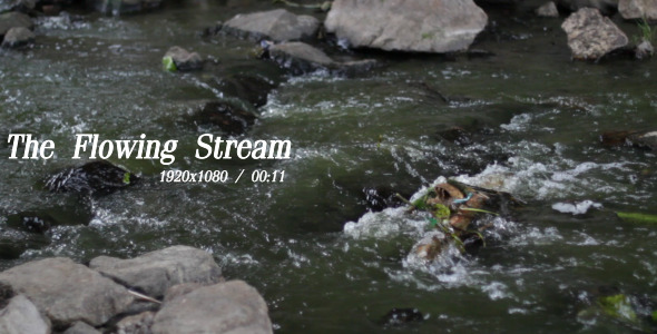 VideoHive The Flowing Stream 5491306