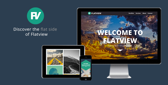 Flatview - One Page Muse Theme