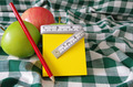 apples and note pad - PhotoDune Item for Sale