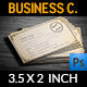 Reteo / Vintage Business Card - GraphicRiver Item for Sale
