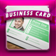 Flat Business Card 4 - GraphicRiver Item for Sale