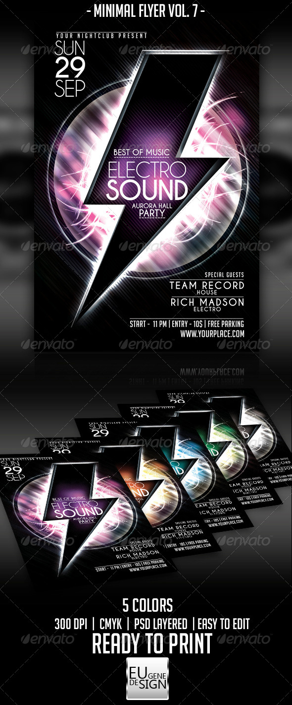 GraphicRiver Minimal Flyer Vol 7 5498186
