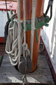 Sailboat wooden marine rigs and ropes. - PhotoDune Item for Sale