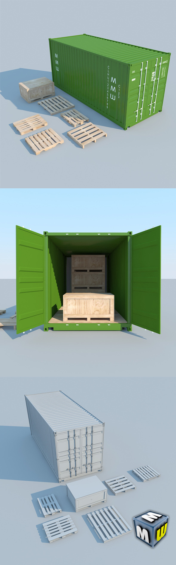 3DOcean Container MAX 2011 5501494