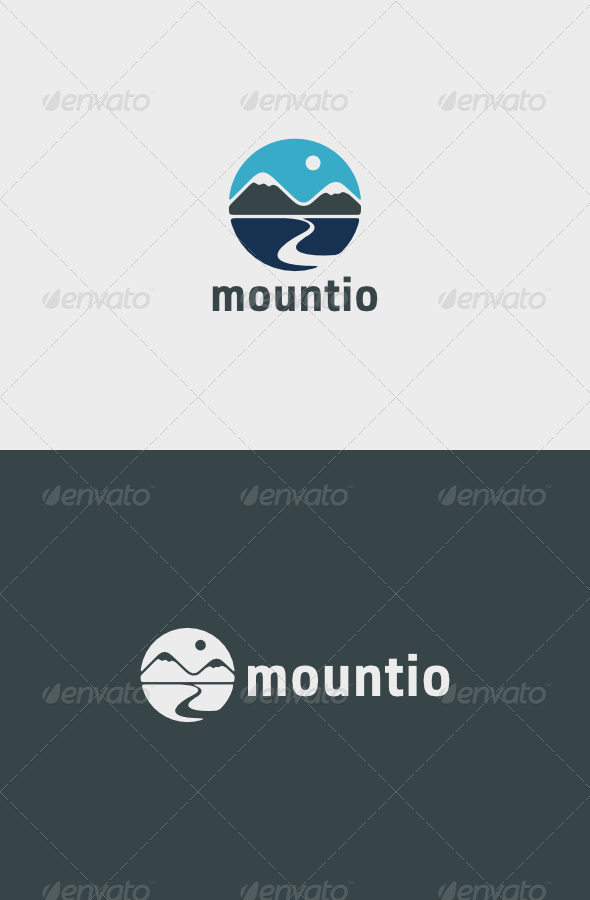 GraphicRiver Mountio Logo 5502916