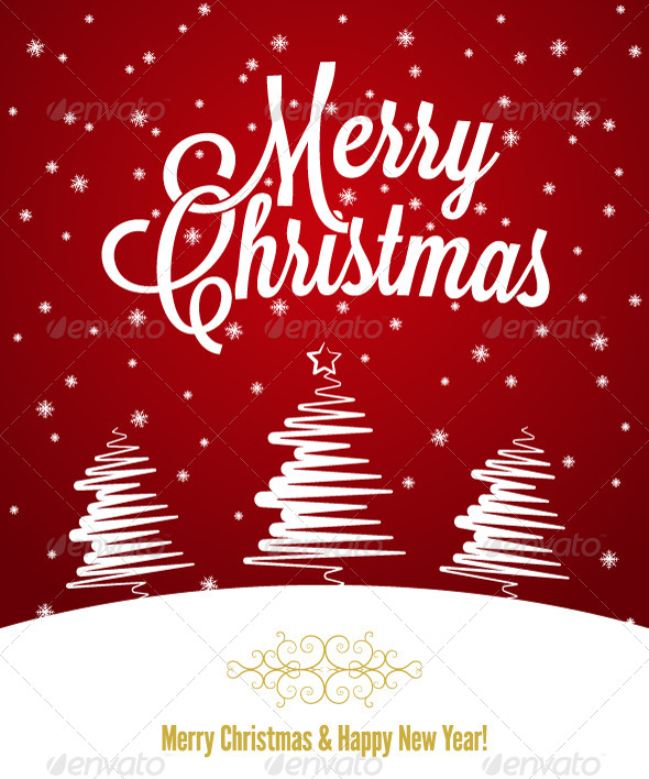 GraphicRiver Merry Christmas Holiday Background 5503236