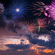 Holiday fireworks on the majestic sky - PhotoDune Item for Sale