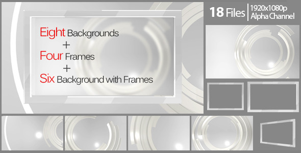 VideoHive Elegant Background And Frame Pack 5504113