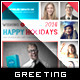 Photo Collage Holiday Greeting Card - GraphicRiver Item for Sale