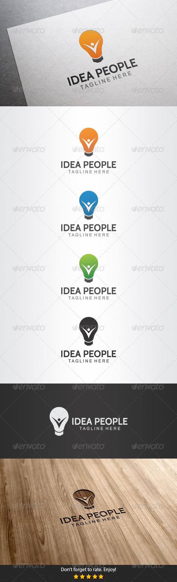 GraphicRiver Idea People Logo 5506914