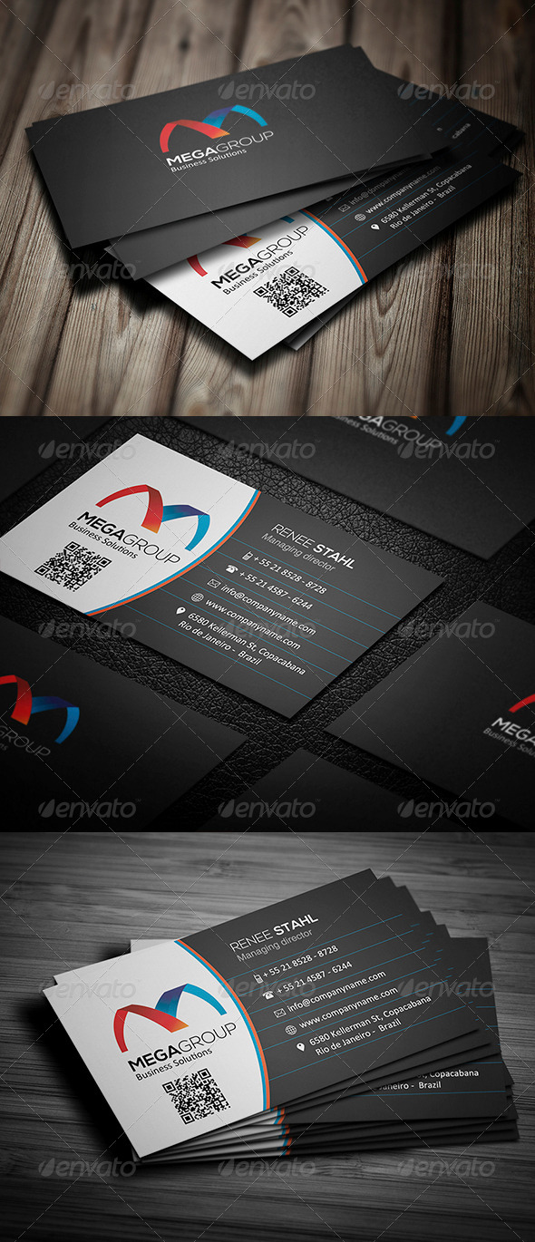 GraphicRiver Corporate Business Card 011 5507071