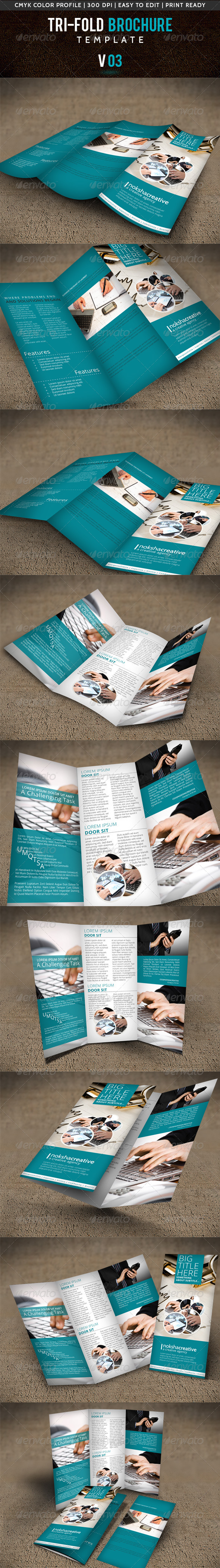GraphicRiver Corporate Tri-Fold Brochure V-03 5482756