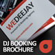 WeDeeJay DJ Booking Agency Tri-Fold Brochure - GraphicRiver Item for Sale
