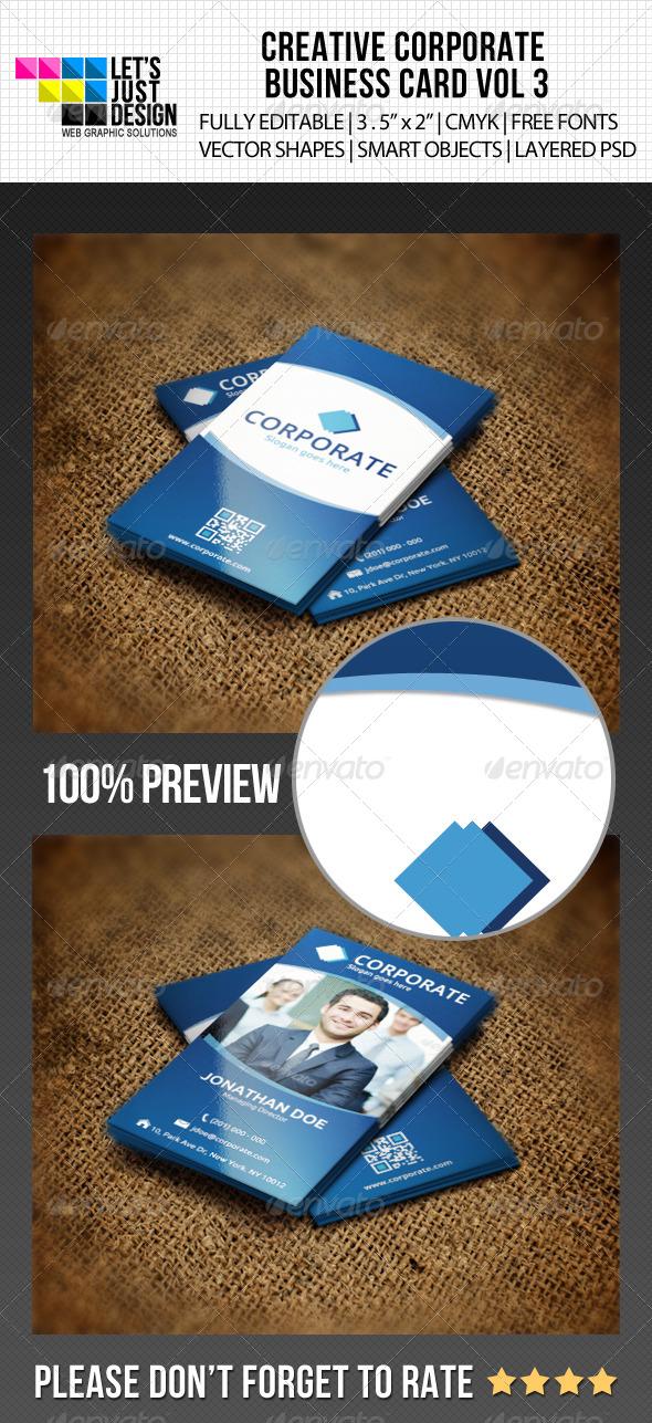 GraphicRiver Creative Corporate Business Card Vol 6 5507352
