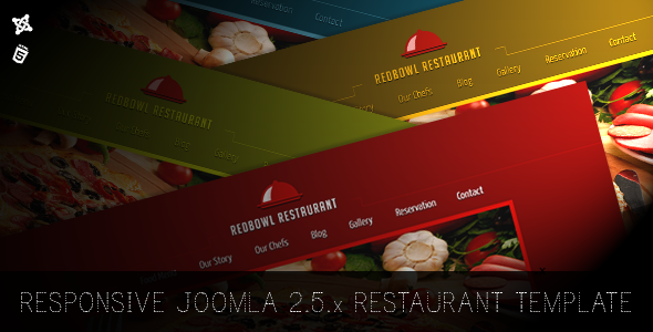 RedBowl Restaurant - Responsive Joomla Template - Food Retail