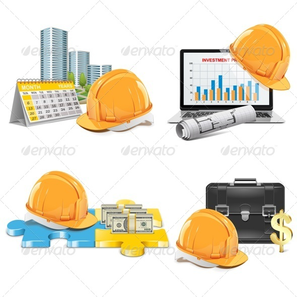 GraphicRiver Vector Construction Investment Concept 5507447