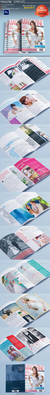 GraphicRiver Wedding Magazine 5507699