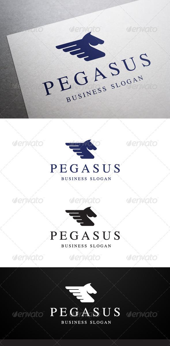 GraphicRiver Pegasus Logo 5508418