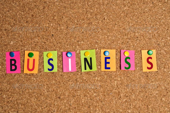 Business word - Stock Photo - Images