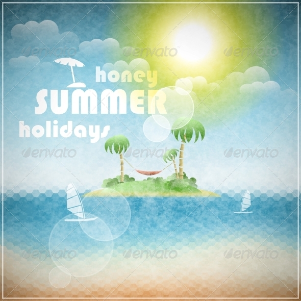 GraphicRiver Honey Summer Holidays 5511278