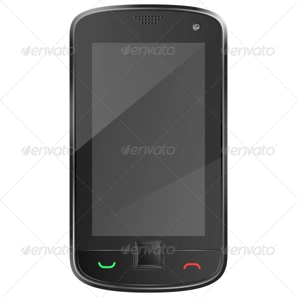 GraphicRiver Black Mobile Phone 5511403