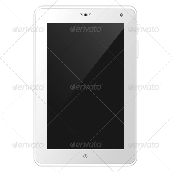 GraphicRiver White Tablet PC 5511484