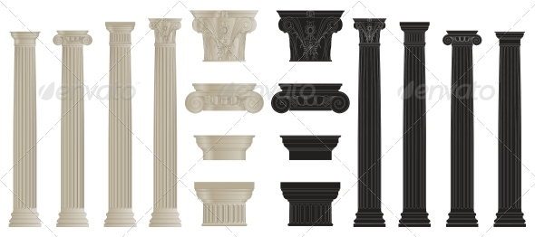 GraphicRiver Set of Columns 5514330