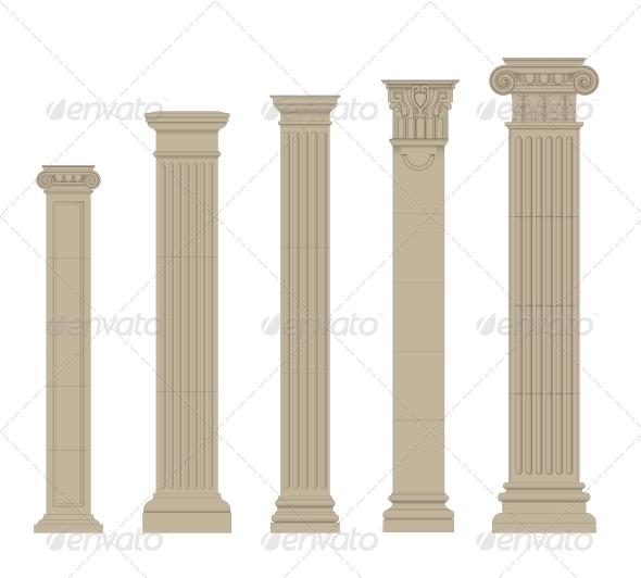 GraphicRiver Set of Columns 5514349