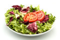 radichcio salad with tomato - PhotoDune Item for Sale