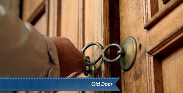VideoHive Old Door 5515068