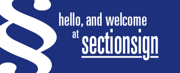 sectionsign