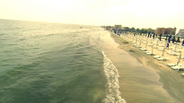 VideoHive Flying Over Seaside 2 5515233