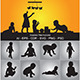 Baby Silhouettes - GraphicRiver Item for Sale