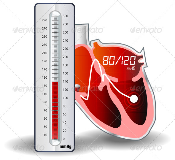 GraphicRiver Blood Pressure Monitoring 5515734