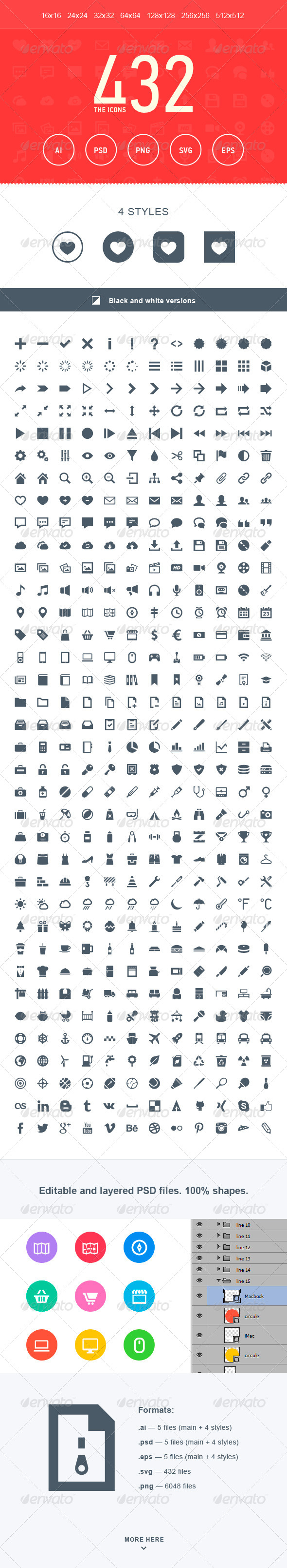 GraphicRiver The Icons 432 5489817