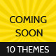 Beautiful Coming Soon Themes - GraphicRiver Item for Sale