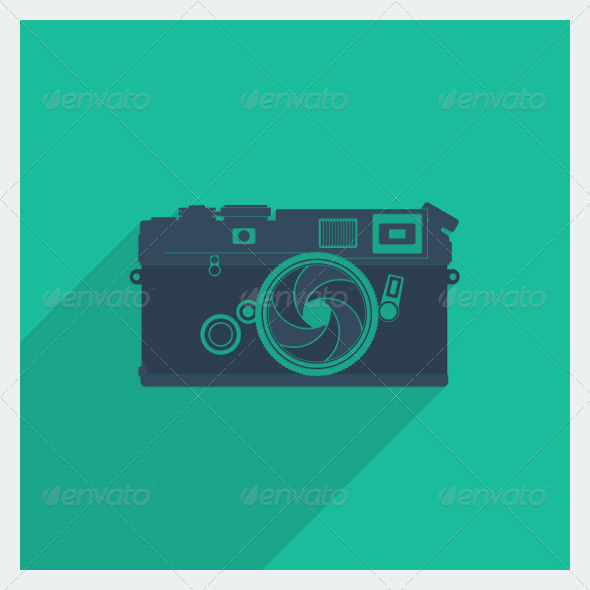 GraphicRiver Flat Camera 5497325