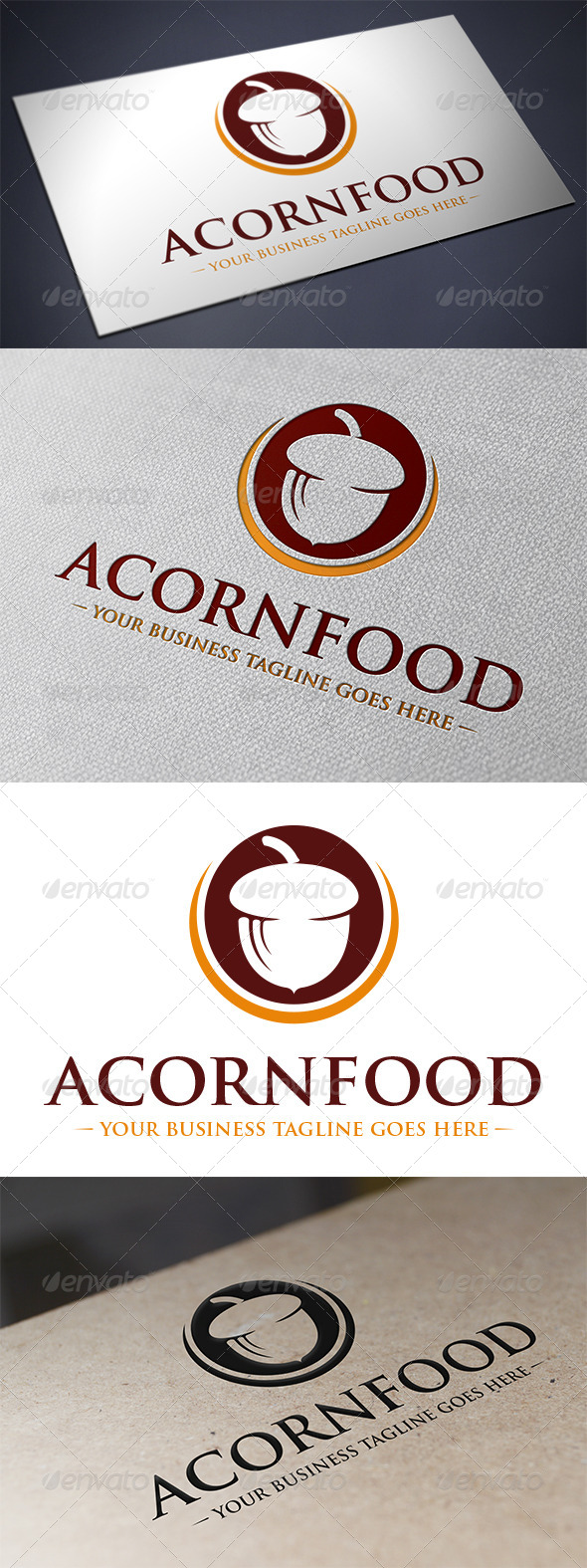 GraphicRiver Acorn Logo Template 5518211