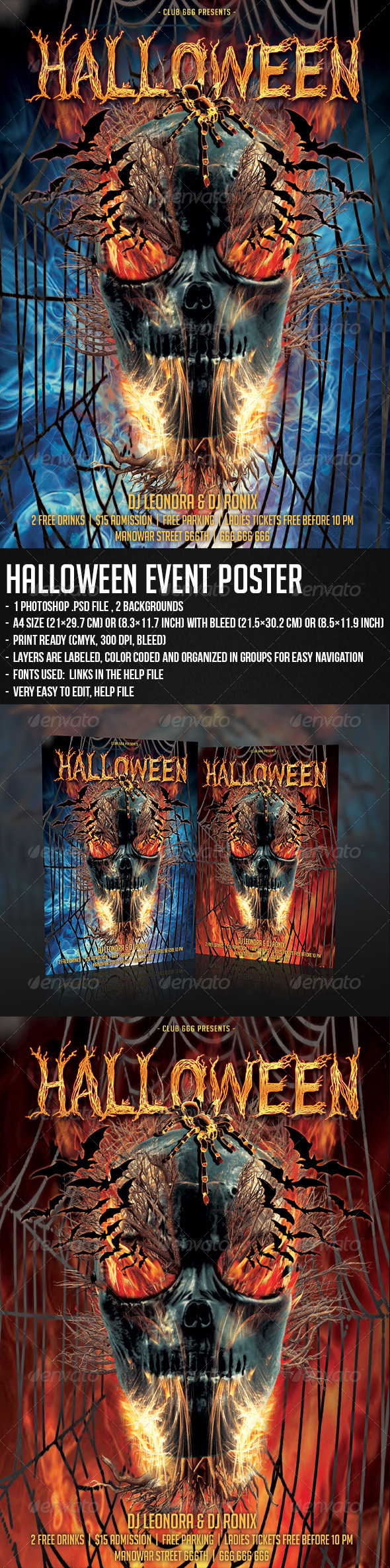 GraphicRiver Halloween Event Poster 5518239