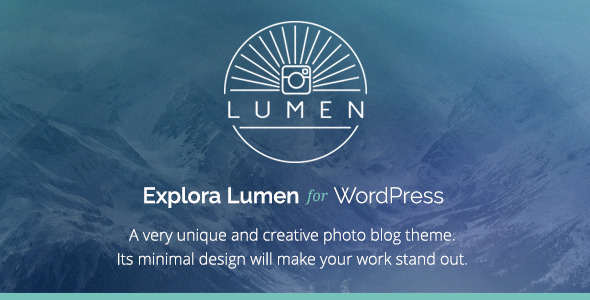 ThemeForest Lumen Responsive Photography WordPress Theme 5485429