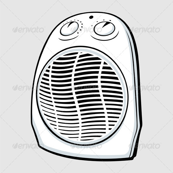 GraphicRiver Fan Heater 5520345