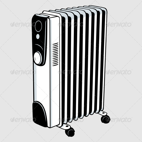 GraphicRiver Electric Heater 5520349