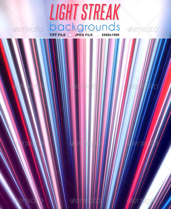 GraphicRiver Light Streak Background 5522091