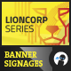 Lioncorp Series - Banner Si-Graphicriver中文最全的素材分享平台