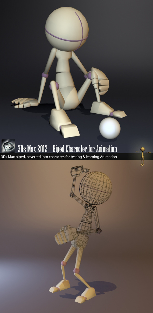 3DOcean Biped Character 5522530